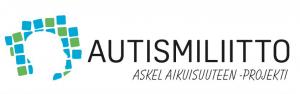 Autismiliiton Askel aikuisuuteen -projektin logo