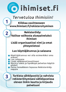 Kuvallinen ohje Ihimiset.fi-palvelun käyttöön