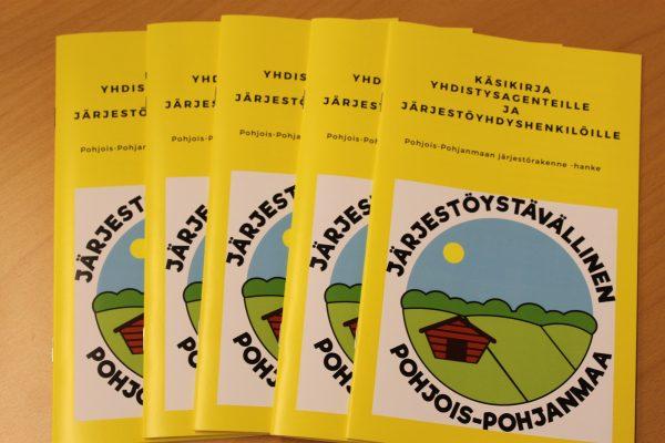 Käsikirja Pohjois-Pohjanmaan yhdistysagenteille ja järjestöyhdyshenkilöille on julkaistu
