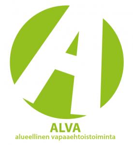 Vihreä Alva-logo, alueellinen vapaaehtoistoiminta