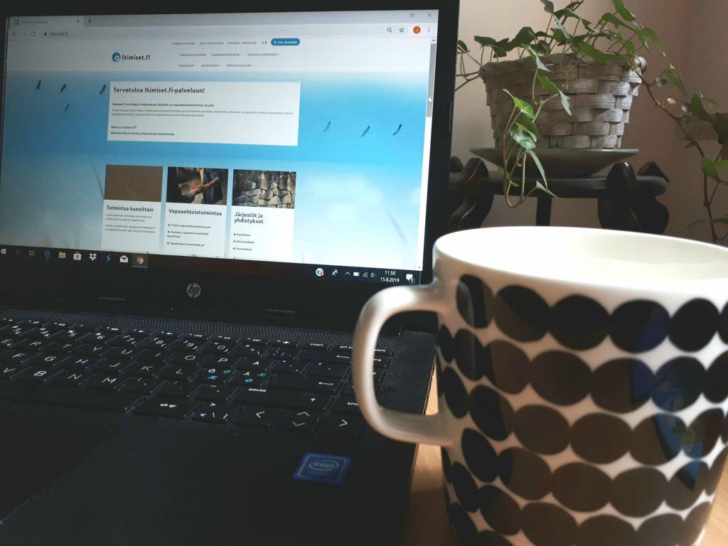 Ihimiset.fi-sivuston rakenne ja etusivu uusiksi