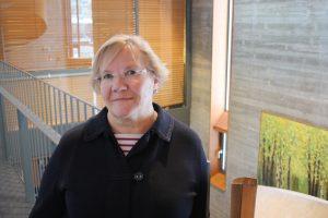 Arja Sutela, pääsihteeri, Nuorten Ystävät ry varapuheenjohtaja, Pohjois-Pohjanmaan järjestöneuvottelukunta