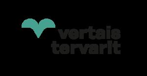 vertaistervarit-logo vihreä-musta