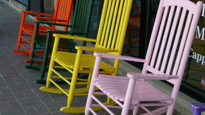 Millaisella tuolilla istut?