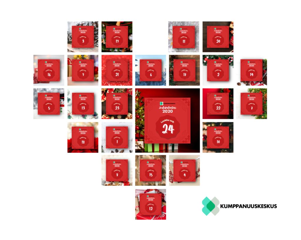 Seuraa Kumppanuuskeskuksen joulukalenteria!