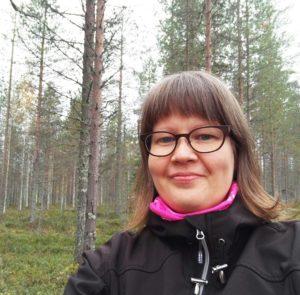 Tekstin kirjoittaja Sanna Salmela Pohjois-Pohjanmaan sairaanhoitopiiristä